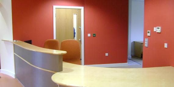 Sloan Medical Centre_Reception